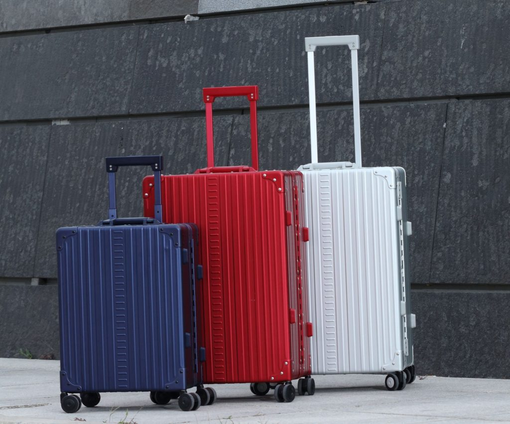 Aluminum luggage by ALEON